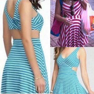 So cute BEBE XX-SEXY cut-out waist dress